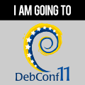 I&#039;m going to DebConf11