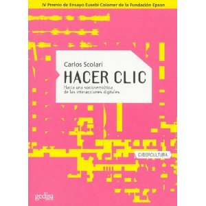 Hacer click (book cover)