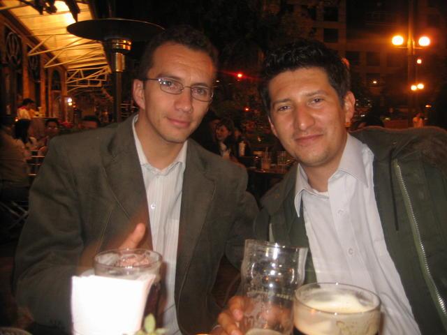 Alejandro Ríos (alerios) and Andrés (kronos)