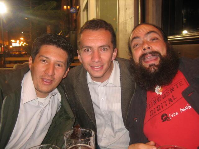 Andrés, Alejandro and me