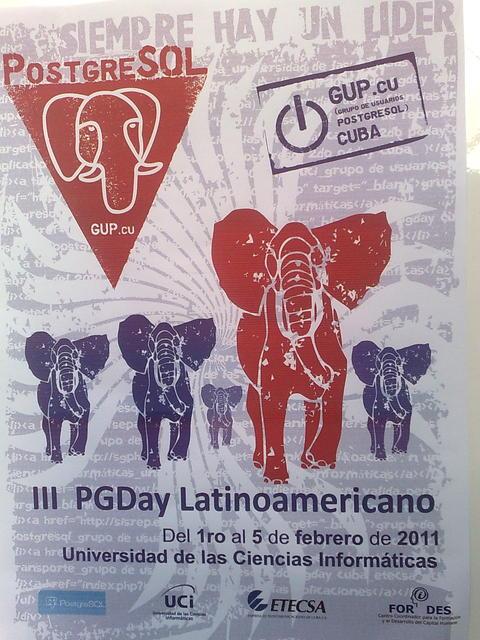 PGDay Latinoamericano - Habana, Cuba, 2011