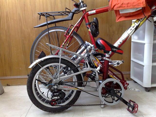 «Universo» bike, folded