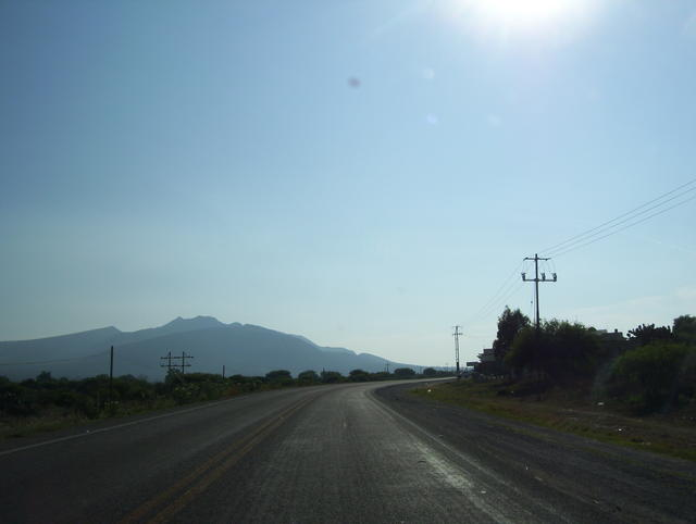 Towards Querétaro's Sierra Gorda