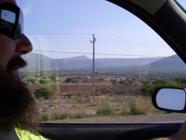 Towards Querétaro's Sierra Gorda