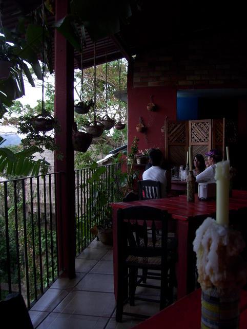 Nice coffee/bar in Xilitla