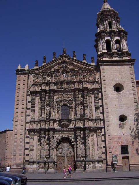 And on the way back: San Luis Potosí city