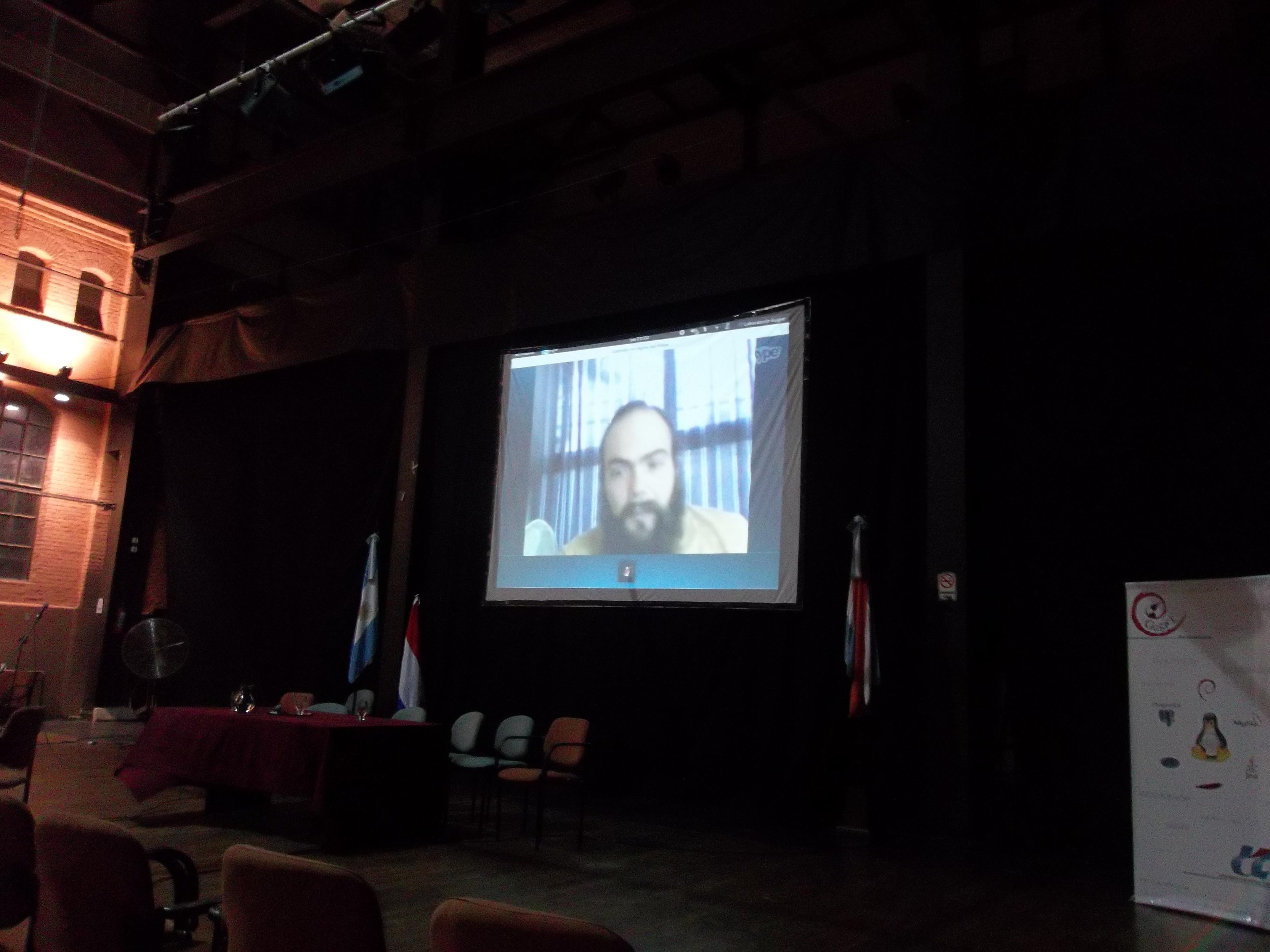 Talking at CRSL (GUGLER), Vieja Usina, Paraná