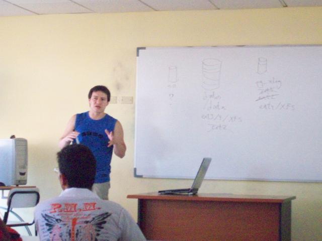 Álvaro Herrera's work session