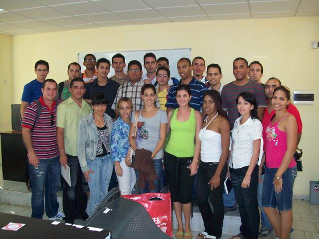 Attendees to Nahum Castro's work session