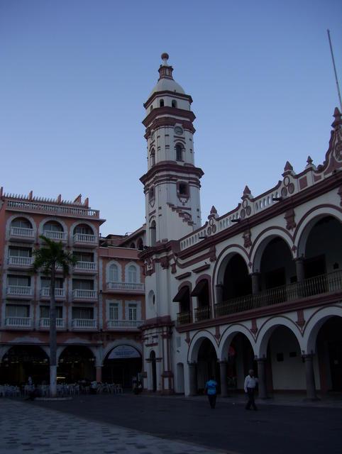 In downtown Veracruz