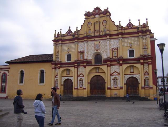 San Cristobal de las Casas' impressive cathedral