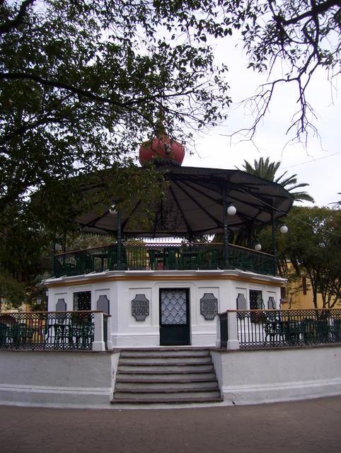San Cristobal de las Casas' central square kiosk