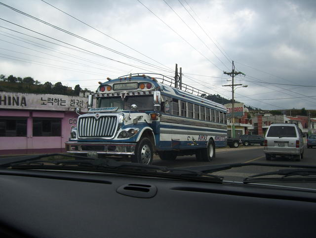 Guatemala's interregional buses: The kings of the road