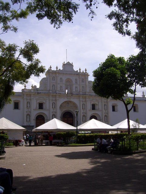 Antigua Guatemala: The Cathedral from the main square