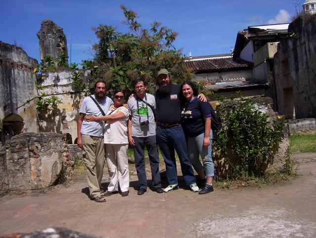 Antigua Guatemala, with Pooka, Moni, Wences and Regina