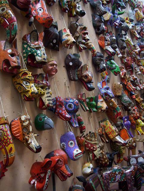 Great handicraft market in Antigua Guatemala