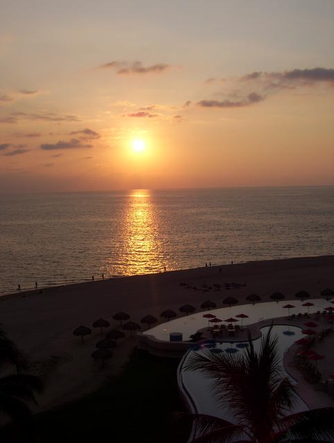 Great sunset in P. Vallarta!