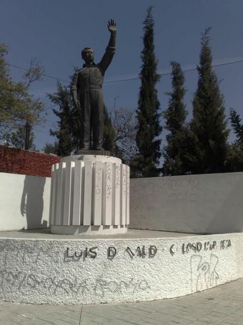 Monument for Luis Donaldo Colosio