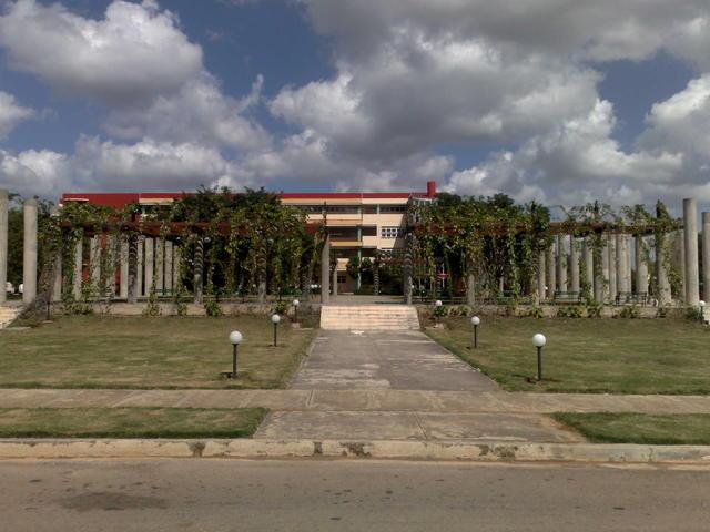 In the Universidad de las Ciencias Informáticas campus