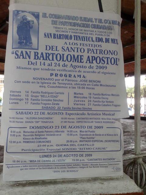 San Bartolo Tenayuca, Tlalnepantla