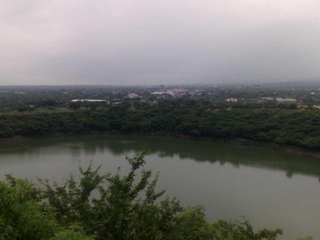 Tiscapa lake, in central Managua
