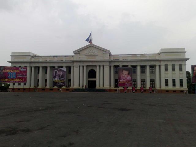 Former presidential house, Managua