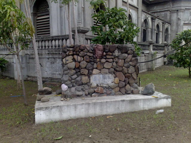 The ruins of the old Managua Cathedral
