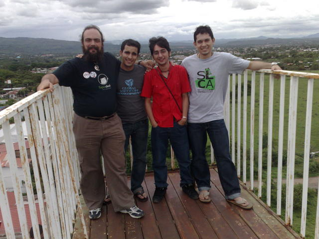 At the Esteli viewpoint