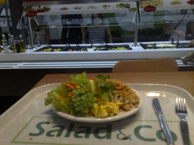 Great lunch at Salad&Co, Madrid