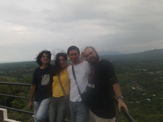At the Coyotepe fortress and prision