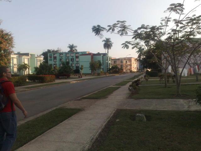 Student/teacher residences at Universidad de las Ciencias Informáticas