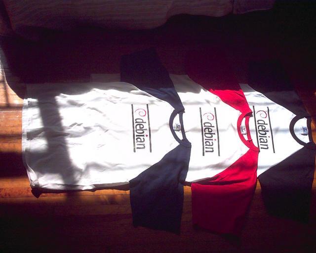 Debian T-shirts!