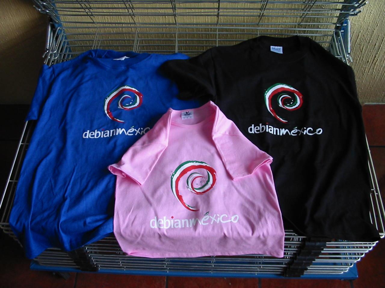 Debianmexico T-shirts