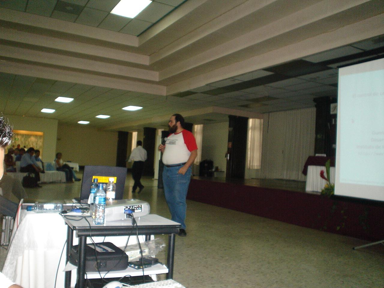 Poza Rica 31/05/05: My talk