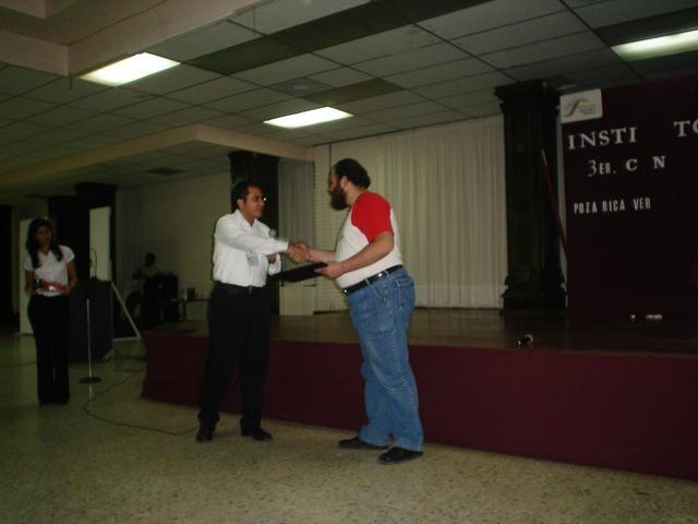 Poza Rica 31/05/05: Finishing my talk