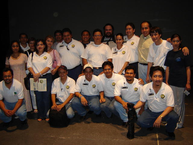 Organizers and speakers, after closing the conference