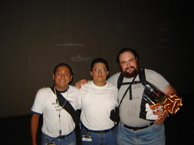 With the Tuxtla guys Armando and Paul