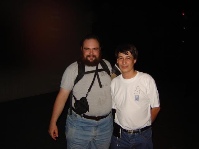 With Leonardo Yamazaki