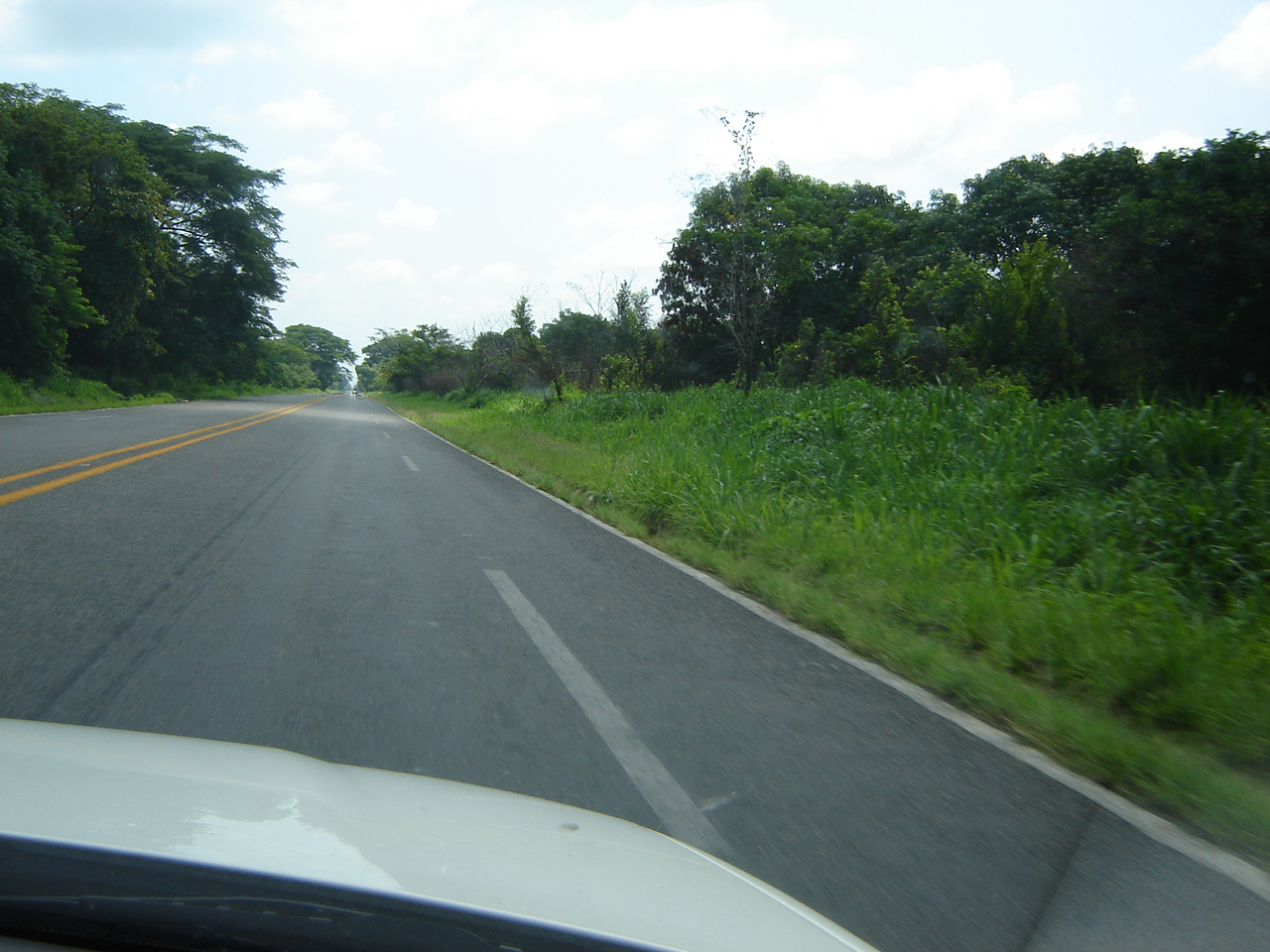 The road from the shore to Tapachula
