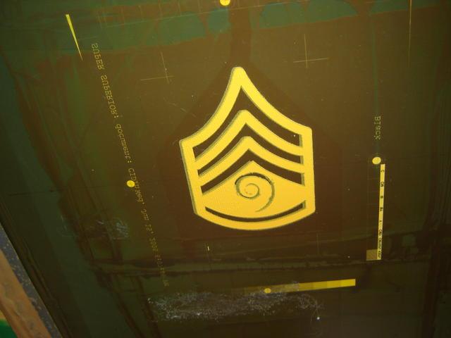 Sarge badge