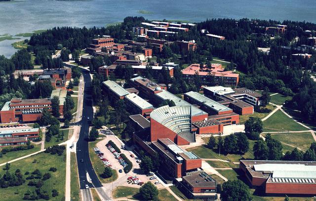 Nice view of the HUT Otaniemi campus