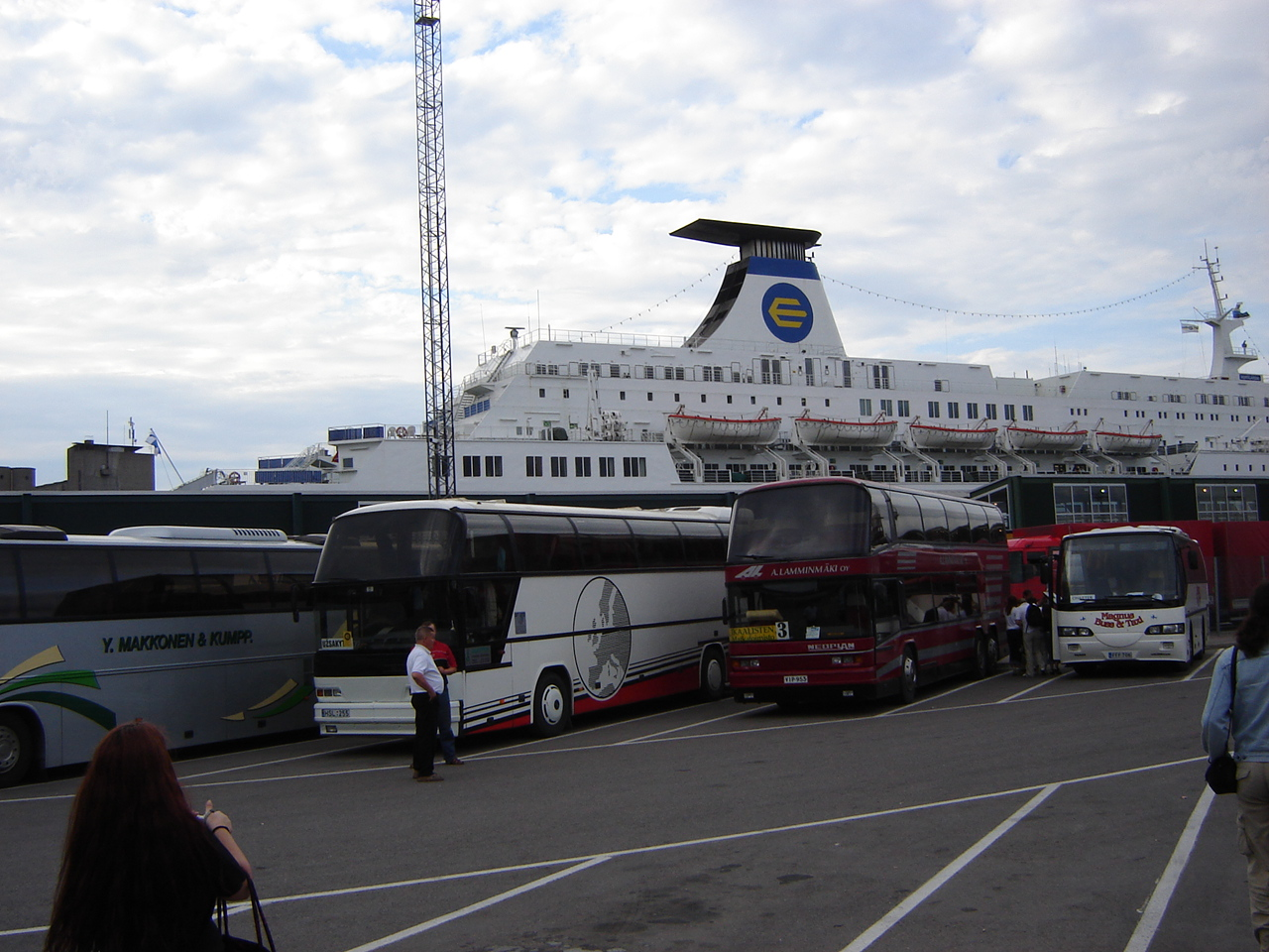 The ferry to Talinn!