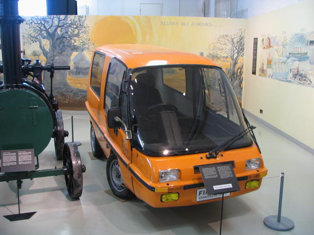 Early electrical car, Helsinki Museum of Technology