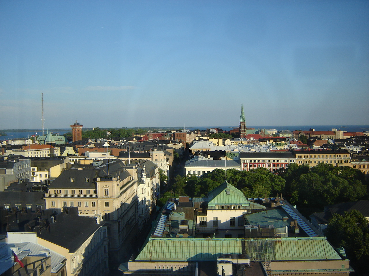 Helsinki from the viewpoint