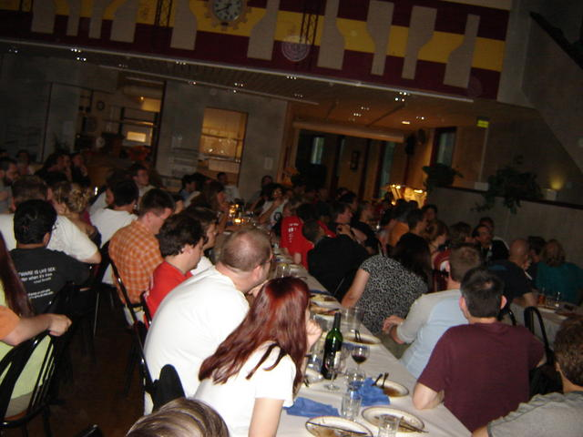 Formal dinner attendance