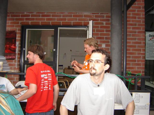 Jeroen, Aschwin, Guillem