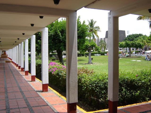Common areas in Oaxtepec