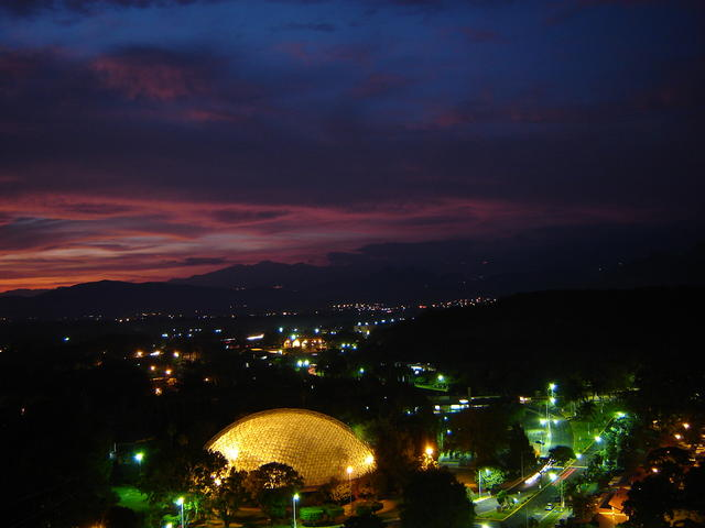 Overview of the lower Oaxtepec area