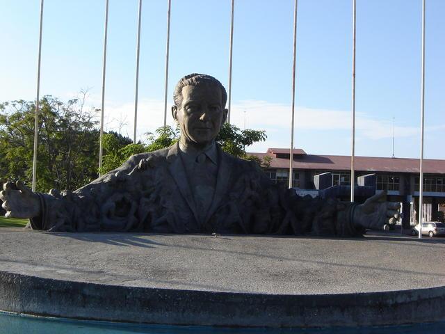 President Adolfo López Mateos, founder of Oaxtepec