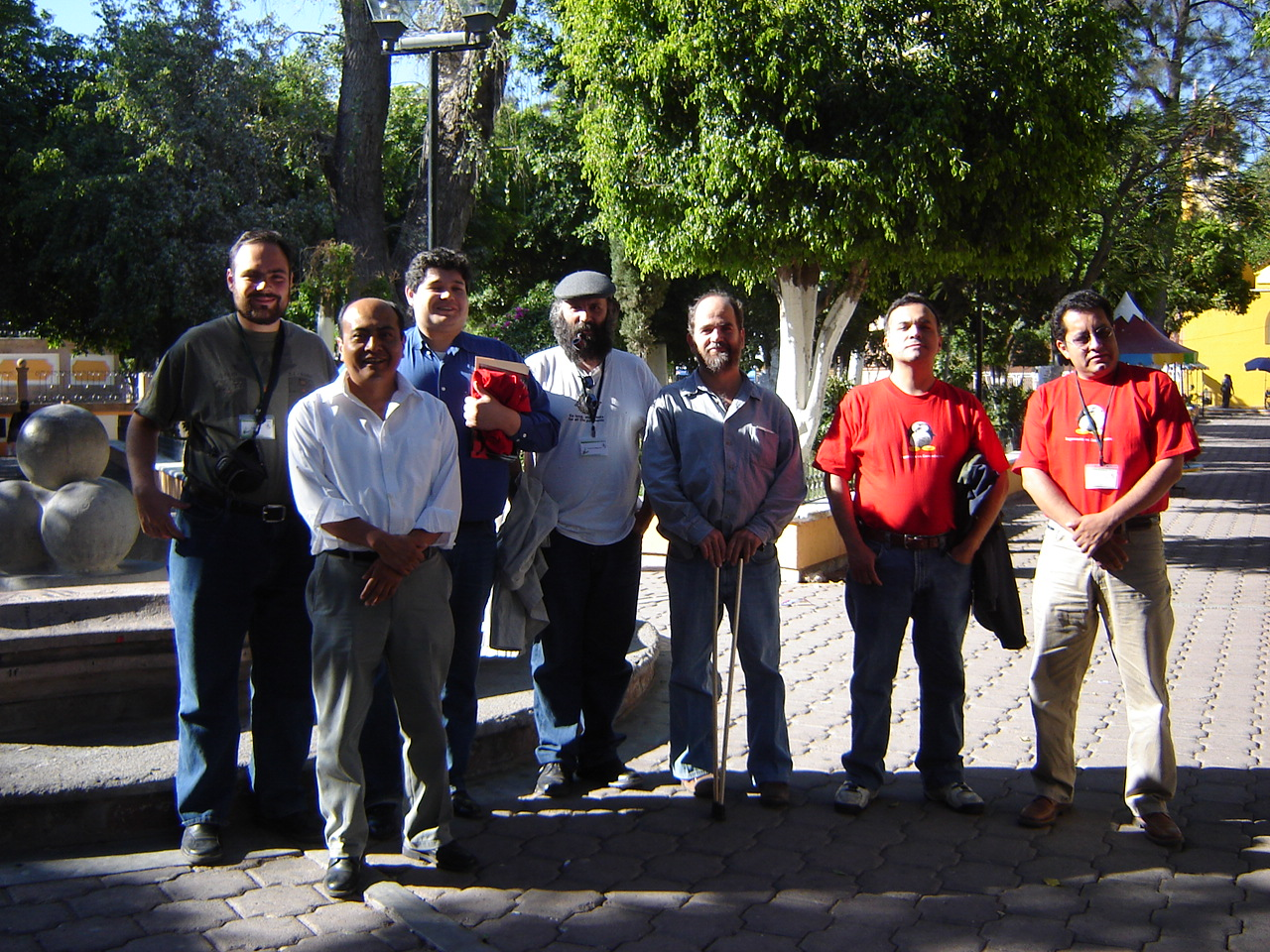 The group of invited speakers